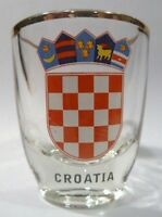 CROATIA SHOT GLASS SHOTGLASS