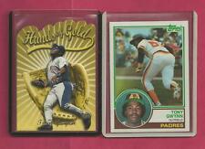 1 - Tony Gwynn Card San Diego Padres 1983 Topps Rookie Card # 482 Ex Near Mint