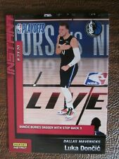 2019-20 Panini Instant Luka Doncic Dallas #169 8/23/20 Playoffs In the Bubble