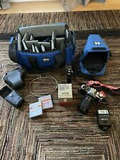 Canon Camera Ae-1 Program with bag and accessories