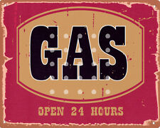 GAS  GARAGE METAL SIGN RETRO VINTAGE STYLE SMALL shed man cave tin