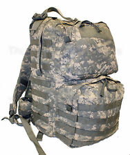 US Army ACU MEDIUM RUCKSACK Complete w/Frame MOLLE Bug Out Bag USGI SLVG