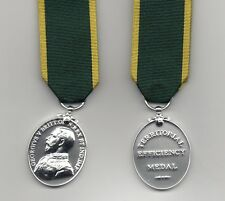 TERRITORIAL  EFFICIENCY MEDAL GEO.V.  FULL-SIZE REPLICA - SUPERB QUALITY