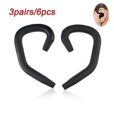 3Pairs/6Pcs HOT Earhooks Set for Most Earphones Headphones Headset EarLoop Hook