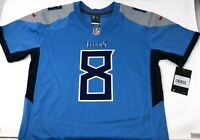 Nike Marcus Mariota Nike Blue Jersey NFL Tennessee Titans NWT Youth Kids Large