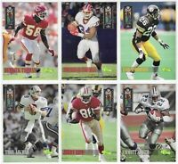 1994 Classic NFL Experience SP Set Of 9 /5000 Jerry Rice Emmitt Smith Aikman
