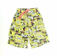 Nickelodeon Mens Yellow Graphic Shorts Size XS/L9