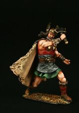 Tin soldier, Collectible, Thor, God of Thunder, 54 mm, Vikings