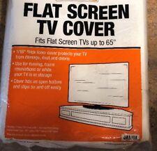 "Flat Screen TV Cover. 65""x36"" Fits Up To 65"" Flat Screen TV, 1/16"" Foam Cover"