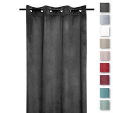 Tenda confezionata in velluto Danae coprente 140x260 cm T073