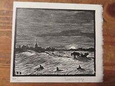 Rodolphe Duguay/1891-1973/ Vintage Etching Print,signed&numbered