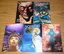 Xene #1-5 VF/NM complete series - serious adventure graphic anthology 2 3 4 set