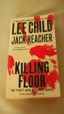 JACK REACHER: Killing Floor # 1 by Lee Child 2012 Paperback JOVE Over Size