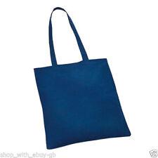 Sac bandoulière bleu en toile pour homme