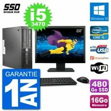 PC de bureau HP avec Windows 10 pour 16 Go maximale de la ram