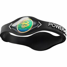 Authentic Power Balance Silicone Wristband - Black/White - Small