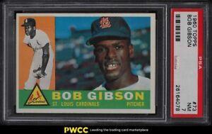 1960 Topps Bob Gibson #73 PSA 7 NRMT
