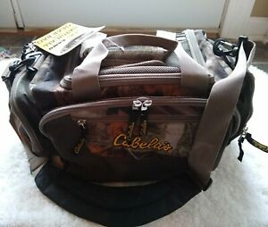 Cabela's Camo Catch-All Gear Bag 16x10x8 1280 cu. in. NEW Hunting Fishing