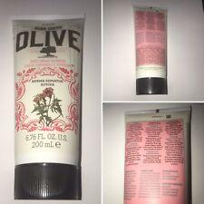 Korres Pure Greek Olive Verbena Scent Body Cream Milk Lotion 200ml