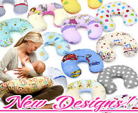 FEEDING PILLOW BABY BREAST PREGNANCY NURSING MATERNITY + REMOVABLE COTTON COVER