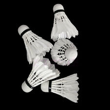 12X Sports Training  Goose Feather Birdies Badminton Ball Game Shuttlecocks YST