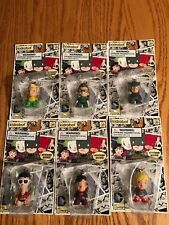 "NEW NIB LOT OF 6 Kidrobot DC COMICS 1.5"" VINYL Keychains SUPERMAN,GREEN LANTERN+"