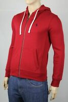 Polo Ralph Lauren RL2000 Red Hoodie Full Zip Sweatshirt Navy Blue Pony NWT