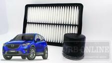 Mazda CX5 KE 2.0L 2.5L SkyActiv~G Petrol 12/12~on AIR + OIL FILTER SERVICE KIT