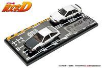 1:64 Modeler's Initial D Toyota Sprinter Trueno AE86 Takumi Fujiwara+Shinji Inui