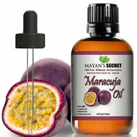 Maracuja Oil Passion Fruit Seed Vitamin C 100% Pure Virgin/Cold Pressed 4oz huge