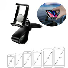 Universal Car Dashboard Mount Holder Stand HUD Clip On Cradle for Mobile Iphone