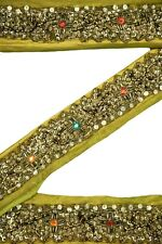 Vintage Indian Ribbon Saree Border Embroidered Deco Craft by The Yd ST2322