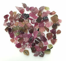125 CT SCOOP NATURAL MULTICOLOR TOURMALINE ROUGH GEMSTONE LOOSE LOT RAW MINERAL