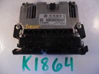 2012 12 PASSAT 2.5L AT COMPUTER BRAIN ENGINE CONTROL ECU ECM EBX MODULE K1864