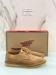 Red Wing Stringata Uomo Oxford Hawthorne 03302 In Suede Red Wing Uomo 39