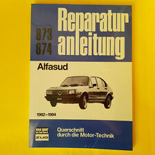 Alfa Romeo Alfasud 1982-1984  Reparaturanleitung Handbuch