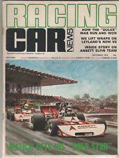 Racing Car News 1972 Dec P76 Elfin 622 Ansett Datsun 240Z 180B Calder Rothman's