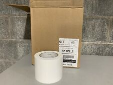 Two (2) Rolls of White Preservation Tape PE8 8, 3.77
