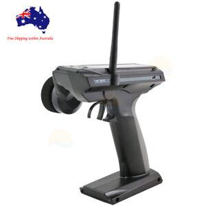 Black Flysky GT3C 3CH 2.4Ghz Radio Control System LCD Transmitter w/ Receiver
