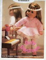 Dolly Daydream Wendy Toy Dk & 4 Ply Knitting Pattern Booklet 600 Ballet Brownies