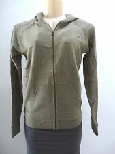 NEW RIP CURL WOMEN ORIGINALS ZIP UP SWEATER JACKET HOODED SMALL QQ63