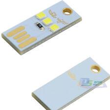 10 Pcs x Mini 3 LED PC USB Bright Night Light Card Lamp Pocket Lamp With