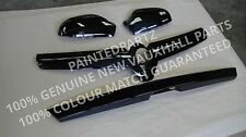 MK5 ASTRA H VXR SRI XP NURBURGRING RACING TAILGATE HANDLE GRILL MIRRORS BLACK