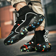 Fashion Men's Sneakers Outdoor Lightweight Sports Running Tennis High Top Shoes