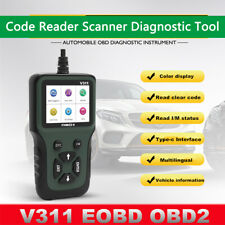 16-pin OBDII 16-pin OBDII Automotive Engine Fault Code Reader CAN Scan Tool