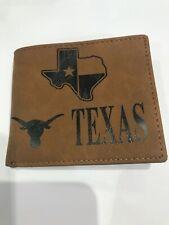 True Leather Brand Texas Wallet