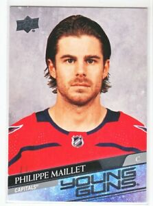 2020-21 Upper Deck Series 2 YOUNG GUNS RC Philippe Maillet  #486