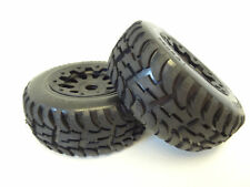 Rovan 1/5 Truck Mud Terrain Tires/Rims Package fits HPI Baja 5T 5SC King Motor