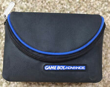 Official Nintendo Game Boy Advance Carry Case Travel Bag Pouch Holder Black Blue