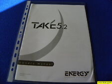 Energy Take 5.2  Owner's Manual Operating Instructions  New